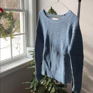 Loft dusty blue sweater
